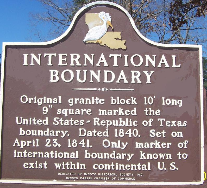 International Boundary Marker