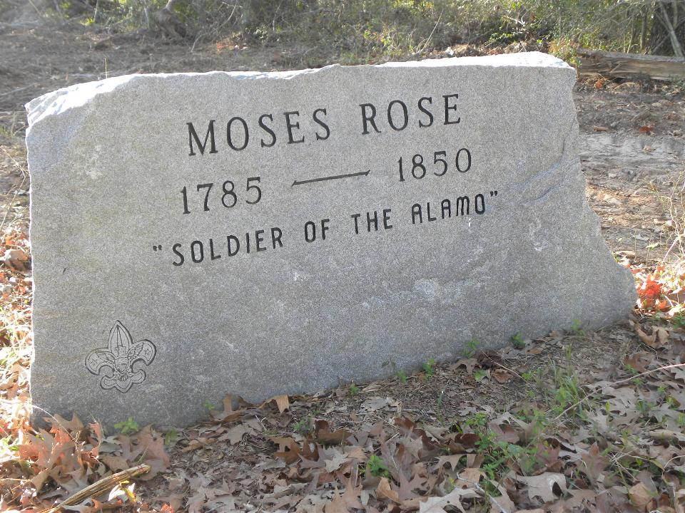 Moses Rose Burial Site