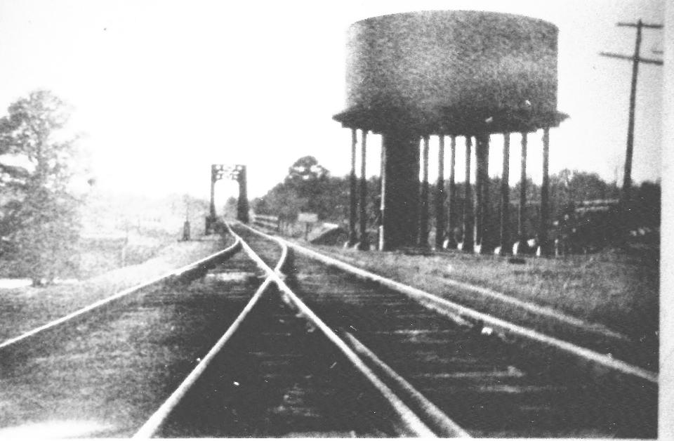 Railroad Water Tower