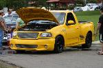 Car Show Big Yellow Truck